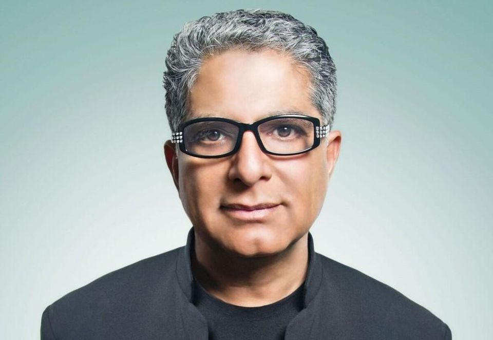 Article co-authored with Deepak Chopra