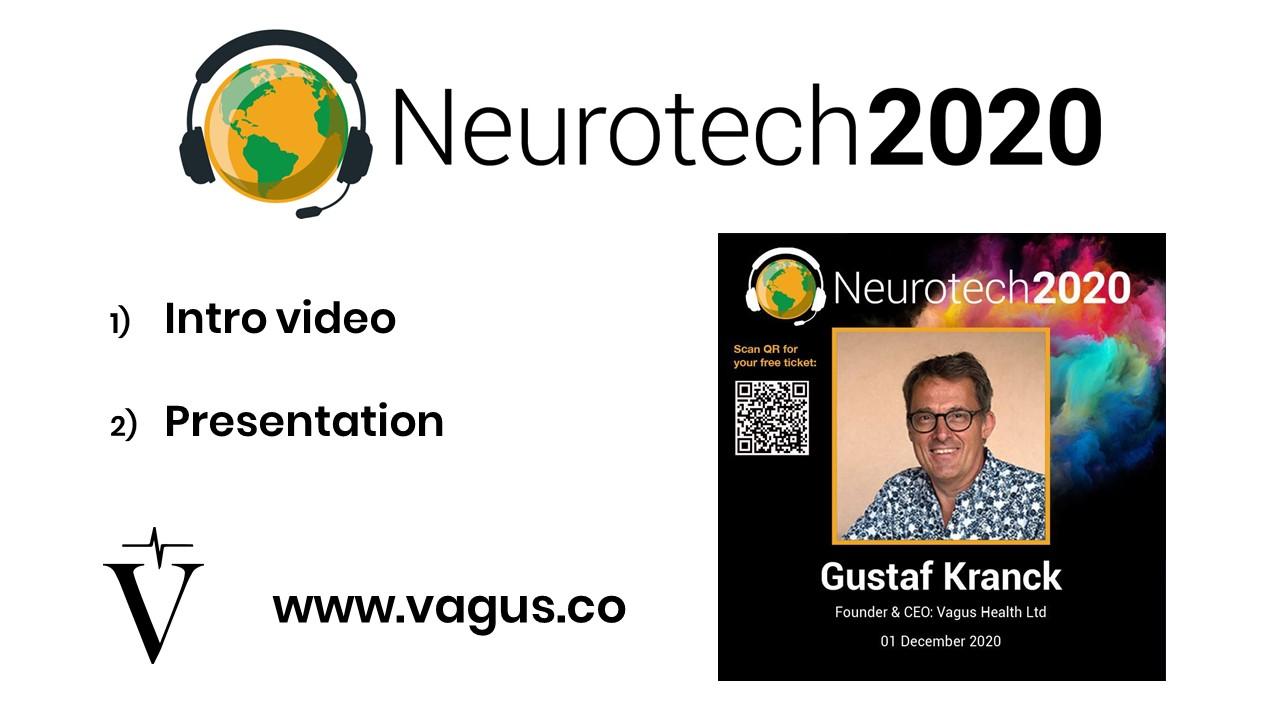 Gustaf's presentation at Neurotech2020